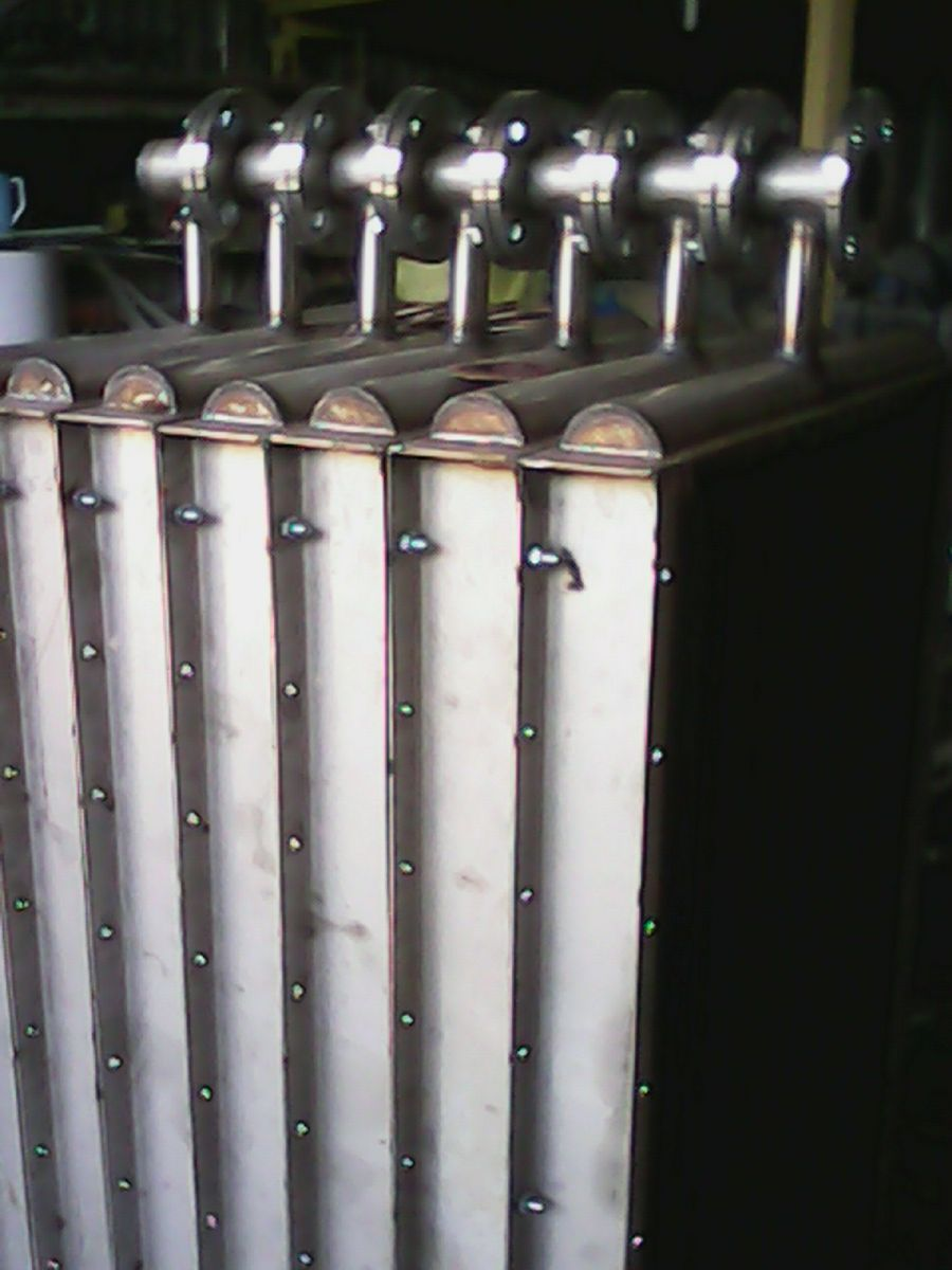 BỘ TRAO ĐỔI NHIỆT BẰNG INOX - HEAT EXCHANGER WITH STAINLESS STEEL