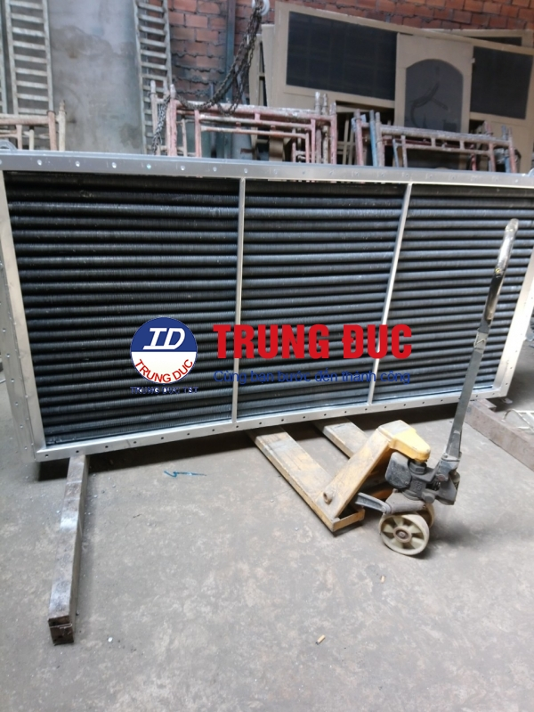 DÀN SẤY( spiral finned dryer )-CALORIFE -ドライヤー열교환 기.